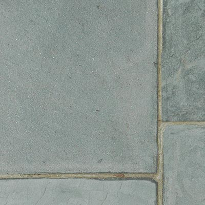 Bluestone Blue, Natural Cleft Patterned Flagstone Swatch