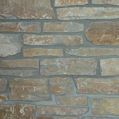 Chilton Brown Weatheredge Roughly Rectangular Building Stone Swatch