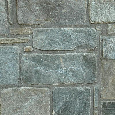 Chocolate Gray Building Stone Roughly Rectangular Swatch