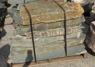 "Colonial Bluestone Stone Steppers 3"" - 5"" Thick Image 2"