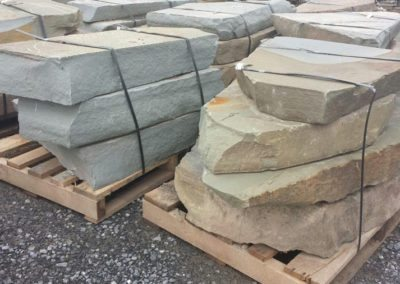 "Colonial Bluestone Stone Steppers 5"" - 8"" Thick Image 3"
