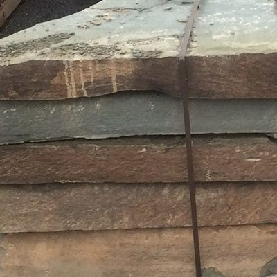 "Colonial Bluestone Stone Steppers 3"" - 5"" Thick Swatch"