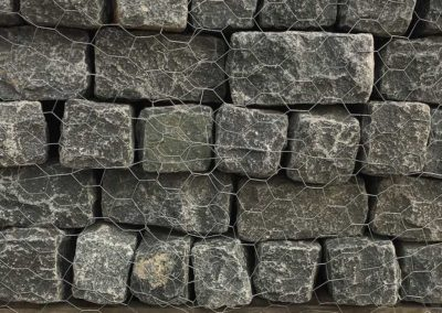 Granite Black Cobblestone Rock Image 1