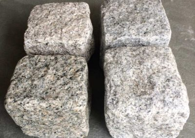 Granite Gray Cobblestone Rock Image 3