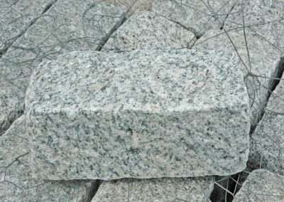 Granite Gray Cobblestone Rock 9x5x5 Image 6