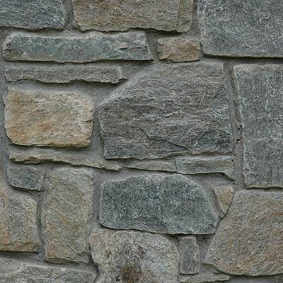 Luna Azul Mosaic Building Stone Swatch