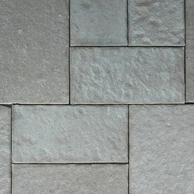 Pewter Patterned Flagstone Swatch