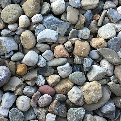 River Rocks Gravel Swatch