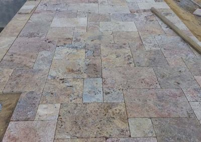 Scabbos Travertine Flagstone Pavers Image 1