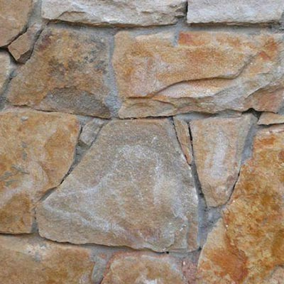 Southern Creme Mosaic Building Stone Swatch