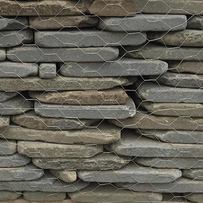Tumbled Bluestone Thin Wall Veneer Swatch