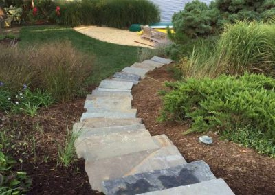 Bluestone Guillotined Stone Steps Image 2
