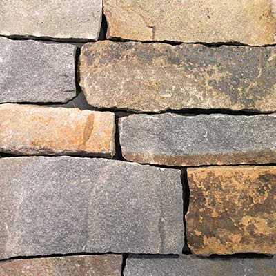 Clove Road Natural Facing Thin Stone Veneer Roughly Rectangular Swatch