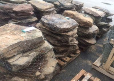 PA Fieldstone Stone Steppers 4-8 per Pallet Image 1