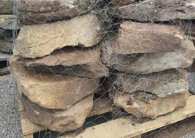 PA Fieldstone Stone Steppers 9-15 per Pallet Image 1
