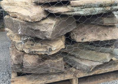 PA Fieldstone Stone Steppers 9-15 per Pallet Image 3