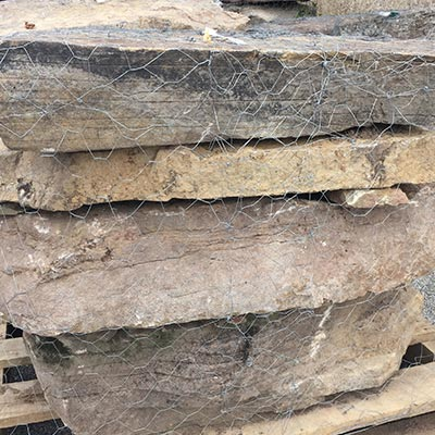 PA Fieldstone Stone Steppers 4-8 per Pallet Swatch