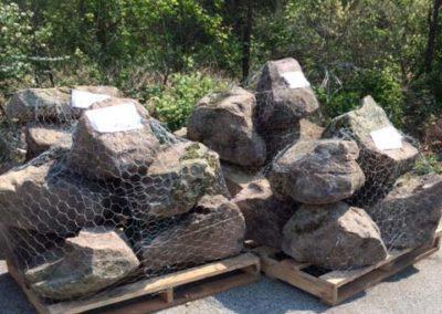 PA Fieldstone Landscape Boulders 6-10 per Pallet Image 1