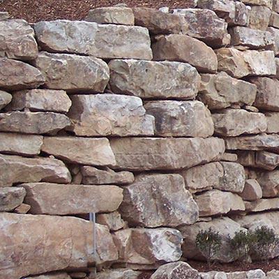 Southern Creme Landscape Boulders Swatch