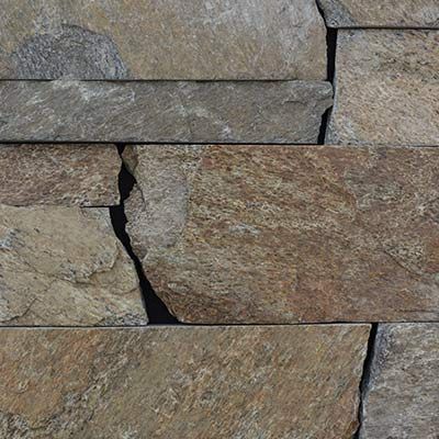 Chesapeake Natural Facing European Ledgestone Thin Stone Veneer Swatch