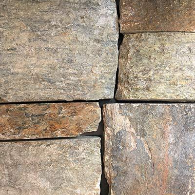 Ramone Brown Natural Facing European Ledgestone Thin Stone Veneer Swatch